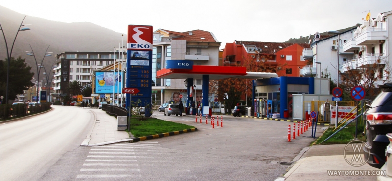 Benzinska pumpa Eko Petrol.photo