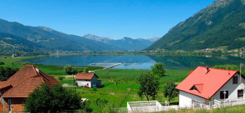 Plav lake .photo
