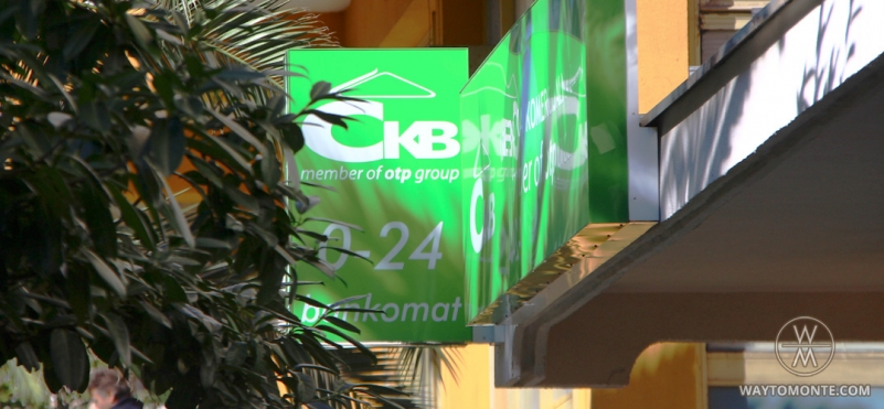CKB Bank. Tivat.photo