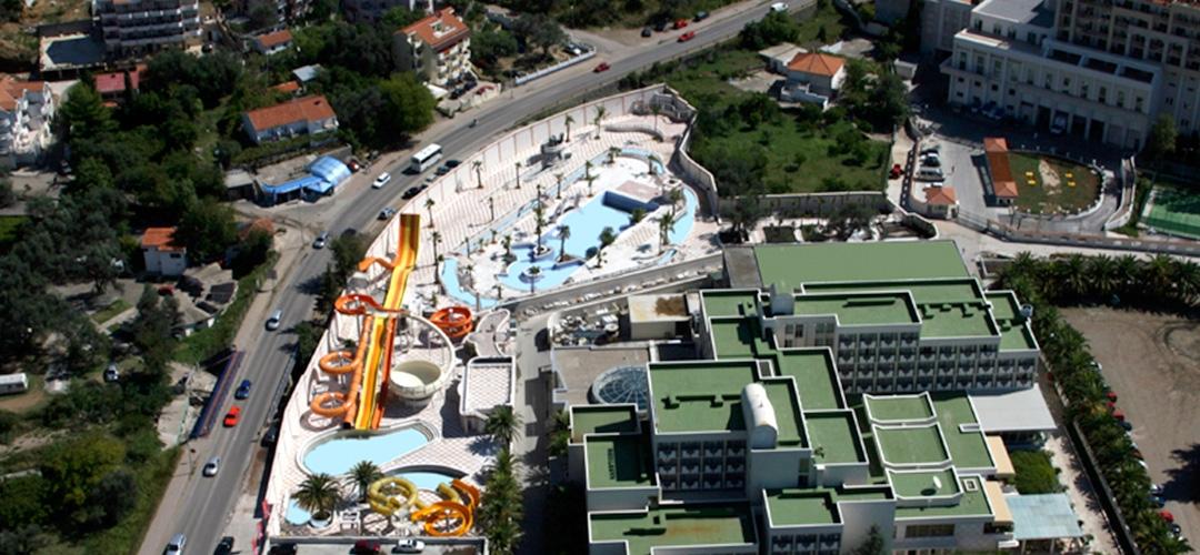 Aquapark Mediteran in Becici, Budva