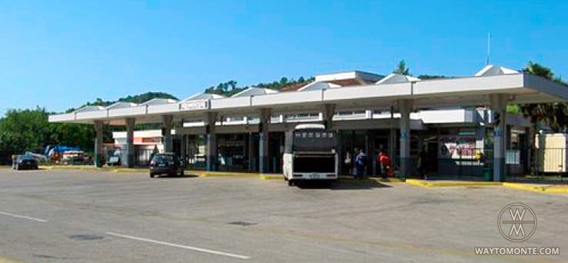Bus station Ulcinj.photo