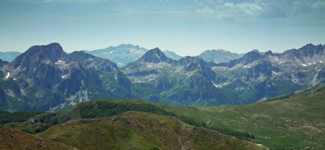 Planine Sinjajevina U Crnoj Gori
