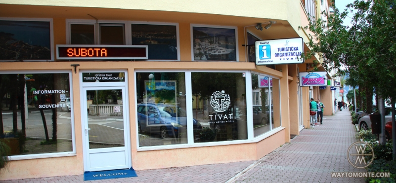 Information centre (tourist centre) in Tivat.photo