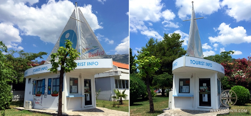 Information centre (tourist centre) in Budva.photo