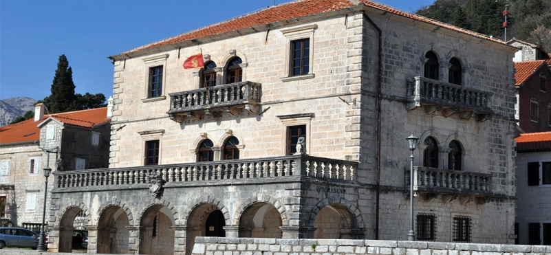 Museum of the town of Perast.photo