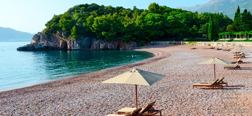TOP-5 most beautiful beaches in Montenegro.photo