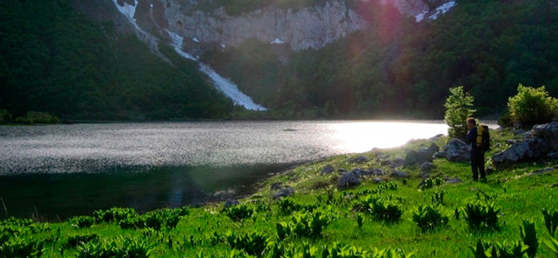 Trnovacko Lake - heart of Montenegro.photo