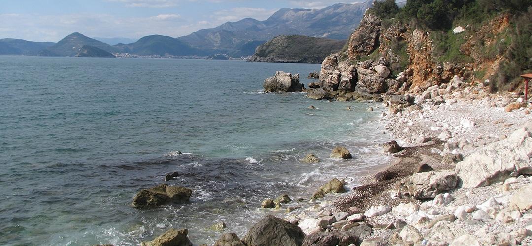 Beach Rijeka Rezevici
