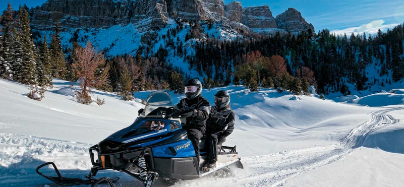 Snowmobiling in Montenegro.photo