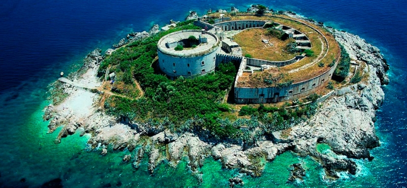Island-fortification Mamula.photo