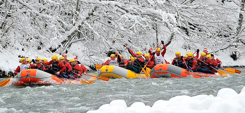 Rafting u Crnoj Gori.photo
