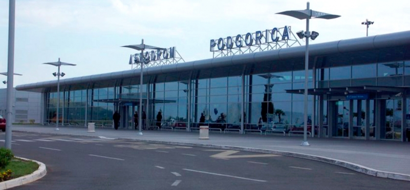 Airport Podgorica.photo