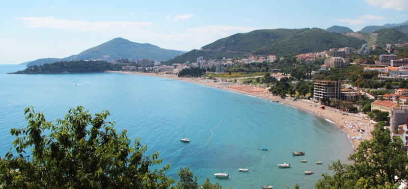 Bečići beach.photo