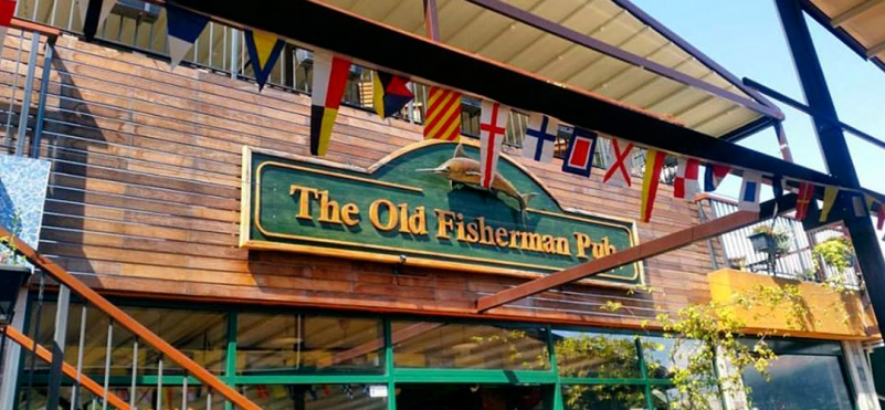 Кафе-бар The Old Fisherman's Pub.photo