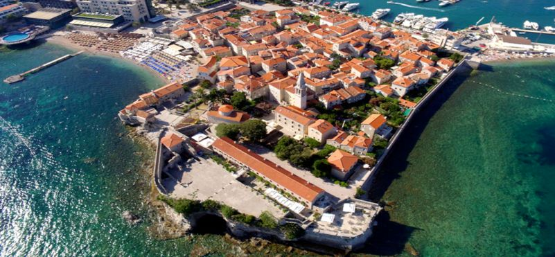 The Old Town Budva.photo