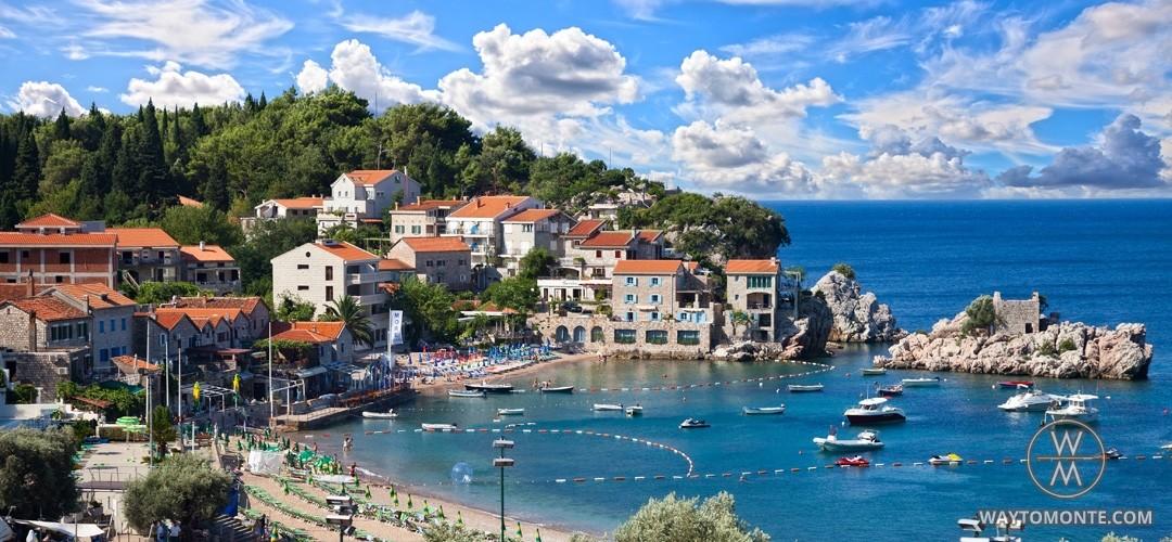 Przno Letovaliste Na Mestu Ribarskog Sela Crna Gora