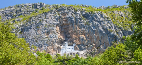 Shrines of Montenegro: Ostrog — Dajbabe — Church Resurrection of Christ — Cetinje monastery