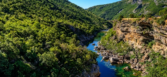 Wild nature of Montenegro - visiting of canyons