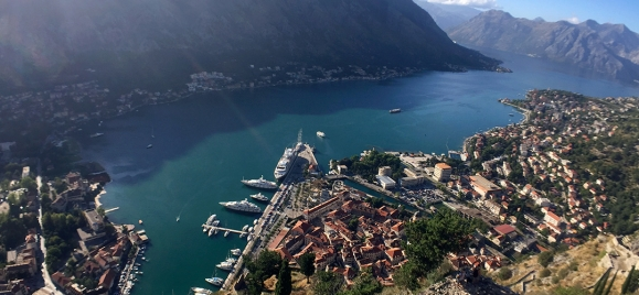 Sightseeing tour across the city Kotor